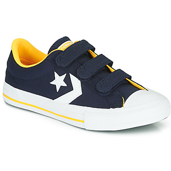 Chaussures Garçon Baskets basses Converse STAR PLAYER 3V VARSITY CANVAS Bleu