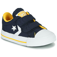 Chaussures Garçon Baskets basses Converse Star Player 2V Varsity Canvas Bleu