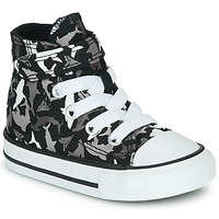 Chaussures Garçon Baskets montantes Converse CHUCK TAYLOR ALL STAR 1V SHARK BITE Noir / Multi