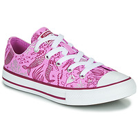 Chaussures Fille Baskets montantes Converse CHUCK TAYLOR ALL STAR UNDERWATER PARTY Rose / Multi