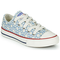 Chaussures Fille Baskets montantes Converse Chuck Taylor All Star Little Miss Chuck Bleu / Multi