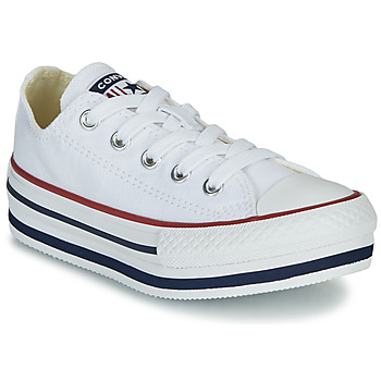 Chaussures Fille Baskets basses Converse CHUCK TAYLOR ALL STAR PLATFORM EVA EVERYDAY EASE Blanc