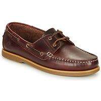 Chaussures Homme Chaussures bateau Lumberjack NAVIGATOR Marron