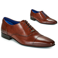 Chaussures Homme Richelieu Azzaro DOGME Cognac