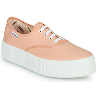 Chaussures Femme Baskets basses Victoria DOBLE LONA Corail