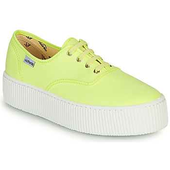 Chaussures Femme Baskets basses Victoria DOBLE FLUO Jaune