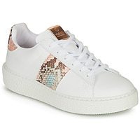 Chaussures Femme Baskets basses Victoria UTOPIA RELIEVE BANDA Blanc