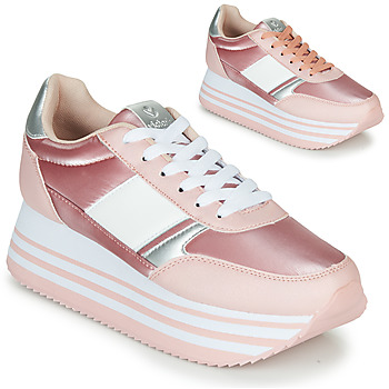 Chaussures Femme Baskets basses Victoria COMETA DOBLE METAL Rose