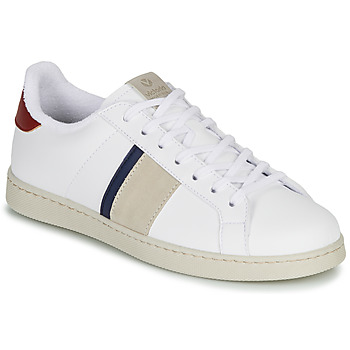 Chaussures Homme Baskets basses Victoria TENIS BANDA Blanc