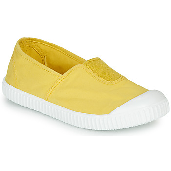 Chaussures Fille Baskets basses Victoria CAMPING TINTADO Jaune