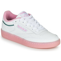 Chaussures Femme Baskets basses Reebok Classic CLUB C 85 Blanc / Rose