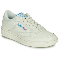 Chaussures Baskets basses Reebok Classic CLUB C 85 MU Beige