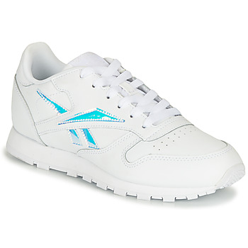 Chaussures Fille Baskets basses Reebok Classic CLASSIC LEATHER Blanc