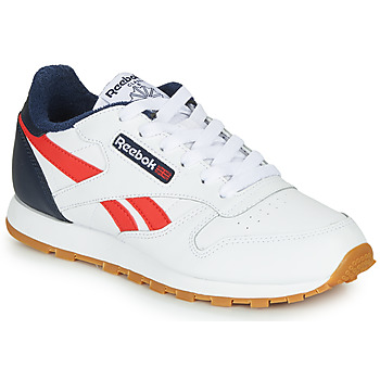 Chaussures Garçon Baskets basses Reebok Classic CLASSIC LEATHER Blanc