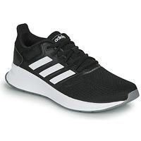 Chaussures Femme Running / trail adidas Performance RUNFALCON Noir / blanc