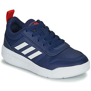 Chaussures Enfant Baskets basses adidas Performance TENSAUR K Bleu / blanc