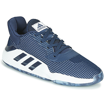 Chaussures Homme Basketball adidas Performance PRO BOUNCE 2019 LOW Marine / Blanc