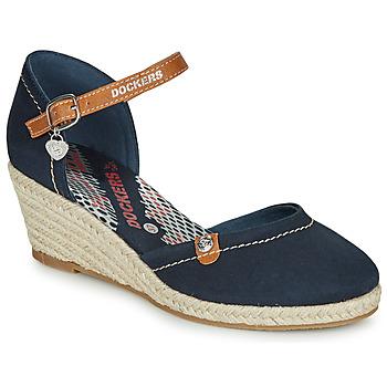 Chaussures Femme Espadrilles Dockers by Gerli 36IS210-667 Marine