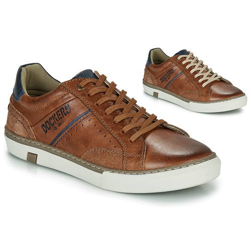 Chaussures Homme Baskets basses Dockers by Gerli 46CM002-440 Cognac