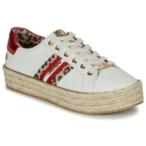 Chaussures Femme Baskets basses Dockers by Gerli 46GV202-509 Blanc / Multi