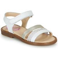 Chaussures Fille Sandales et Nu-pieds Pablosky  Blanc / Nacre