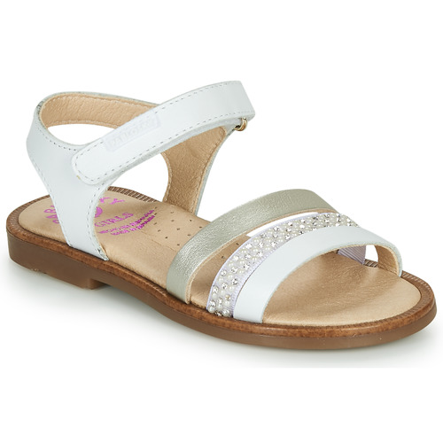 Chaussures Fille Sandales et Nu-pieds Pablosky PINNA Blanc / Nacre