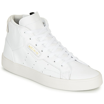 Chaussures Femme Baskets montantes adidas Originals adidas SLEEK MID W Blanc