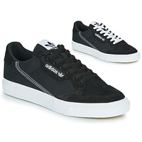 Chaussures Baskets basses adidas Originals CONTINENTAL VULC Noir / blanc