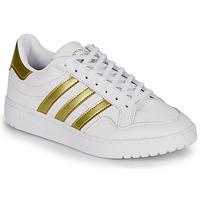 Chaussures Femme Baskets basses adidas Originals MODERN 80 EUR COURT W Blanc / doré