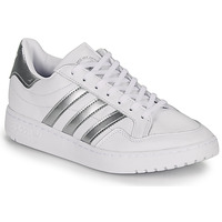 Chaussures Baskets basses adidas Originals MODERN 80 EUR COURT W Blanc / argent