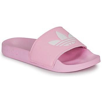 Chaussures Femme Claquettes adidas Originals ADILETTE LITE W Rose