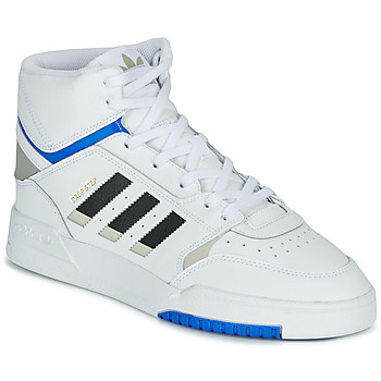Chaussures Homme Baskets montantes adidas Originals DROP STEP Blanc / noir / bleu