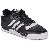 Chaussures Homme Baskets basses adidas Originals RIVALRY LOW Noir / blanc