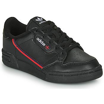 Chaussures Enfant Baskets basses adidas Originals CONTINENTAL 80 C Noir