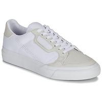 Chaussures Enfant Baskets basses adidas Originals CONTINENTAL VULC J Blanc / beige