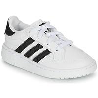 Chaussures Enfant Baskets basses adidas Originals NOVICE EL I Blanc / noir
