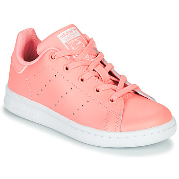 Chaussures Fille Baskets basses adidas Originals STAN SMITH C Rose