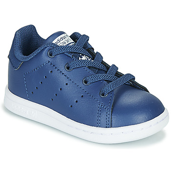 Chaussures Garçon Baskets basses adidas Originals STAN SMITH EL I Marine