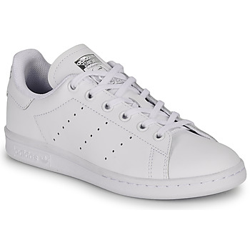 Chaussures Enfant Baskets basses adidas Originals STAN SMITH J Blanc