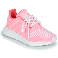 Chaussures Fille Baskets basses adidas Originals SWIFT RUN J Rose