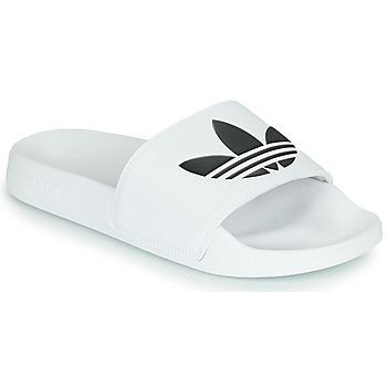 Chaussures Claquettes adidas Originals ADILETTE LITE Blanc