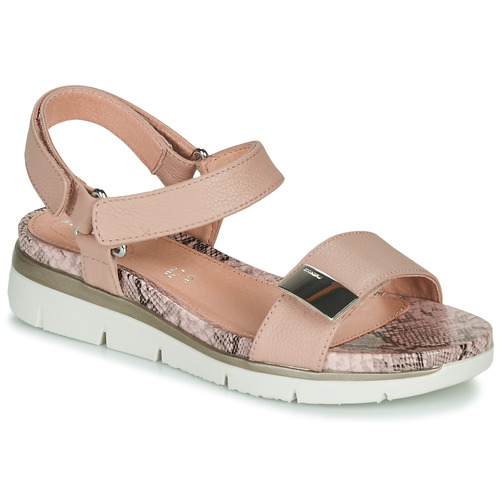 Chaussures Femme Sandales et Nu-pieds Stonefly ELODY 9 Camel / Blanc