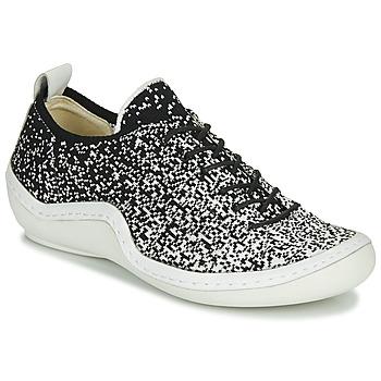 Chaussures Femme Baskets basses Think KAPSL Noir / Blanc