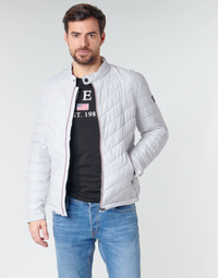 Vêtements Homme Doudounes Guess SUPER FITTED JKT TRAVEL Blanc
