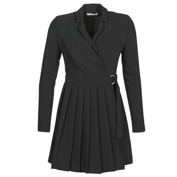 Vêtements Femme Robes courtes Guess ALTAS DRESS Noir