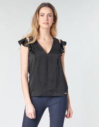 Vêtements Femme Tops / Blouses Guess SS DAHAB TOP Noir