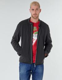 Vêtements Homme Blousons Guess CUMMUTER JACKET Noir
