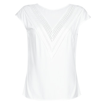 Vêtements Femme Tops / Blouses Guess SS MALIKA TOP Blanc