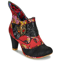 Chaussures Femme Bottines Irregular Choice MIAOW Rouge / Noir