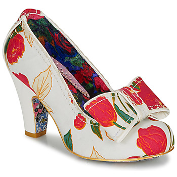 Chaussures Femme Escarpins Irregular Choice SUMMER FRECKLES Blanc / Rouge